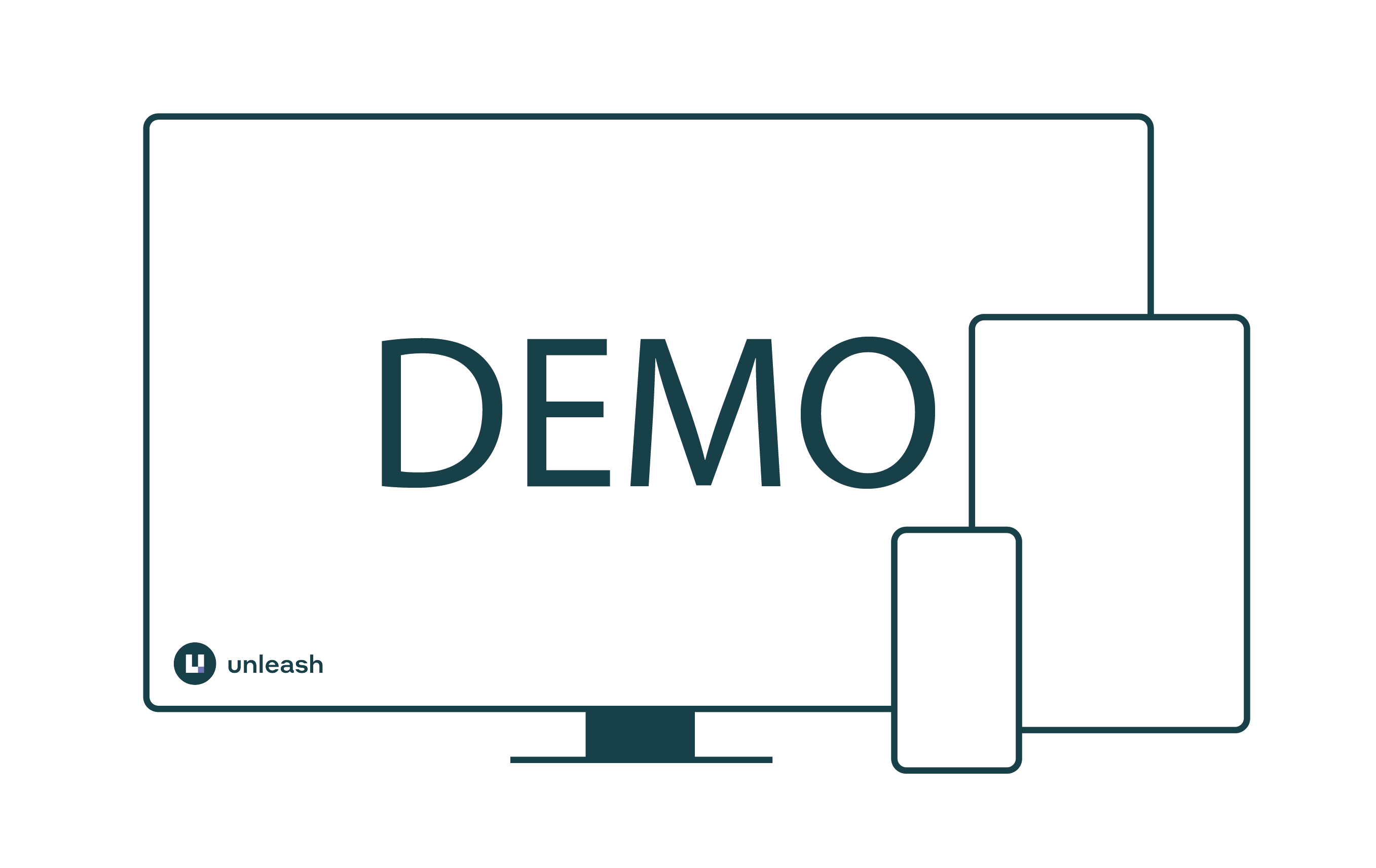 illustration of demo screen